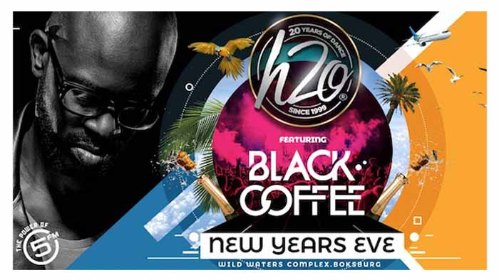 H2O NYE With Black Coffee - 5FM